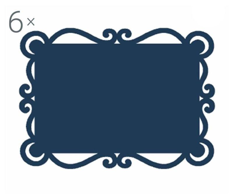 Set 6 podmetača Dorian Blue 32x44 cm