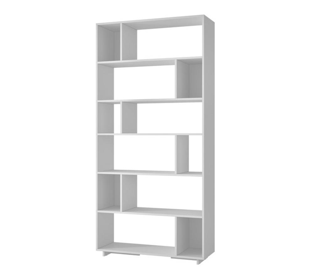 Knjižni regal Form White