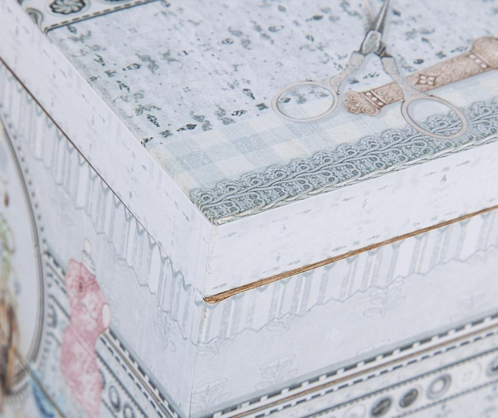 Krabice na šicí potřeby Romantic