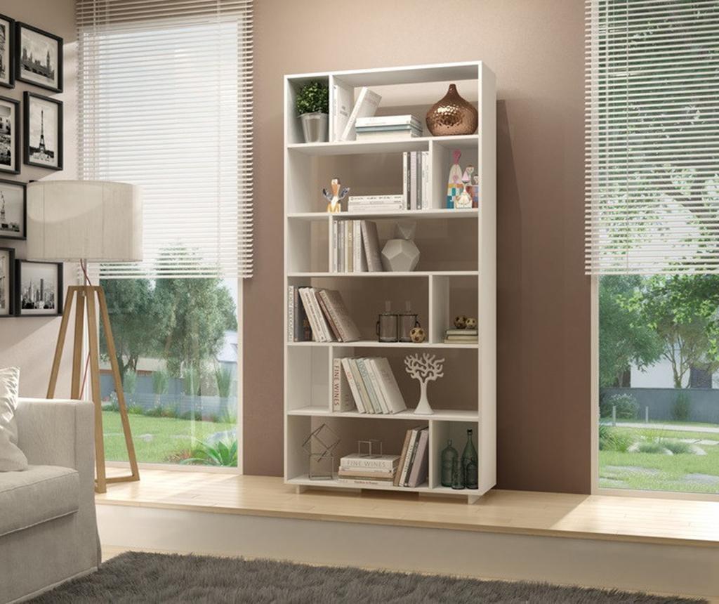 Regal za knjige Form White
