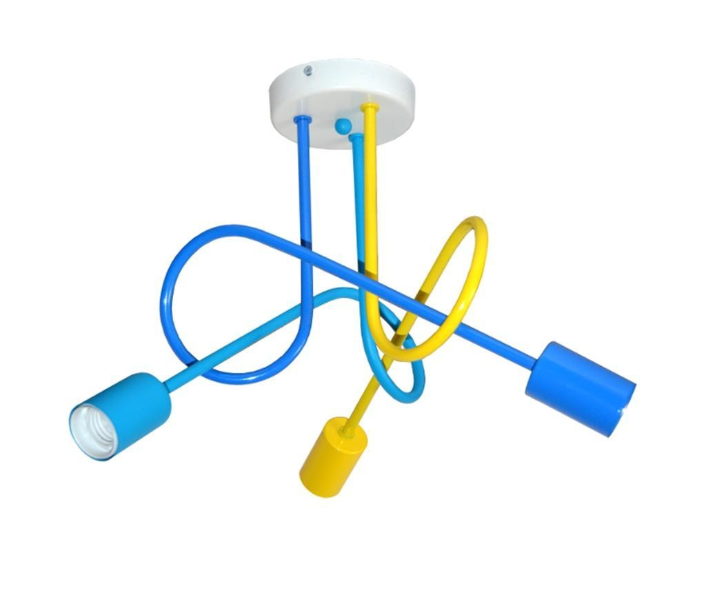 Závěsná lampa Oxford Third Yellow Blue