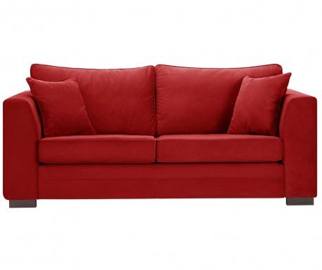Canapea 3 locuri Taffetas Glamour Red