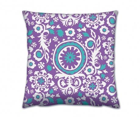 Διακοσμητικό μαξιλάρι Saryu Purple 43x43 cm