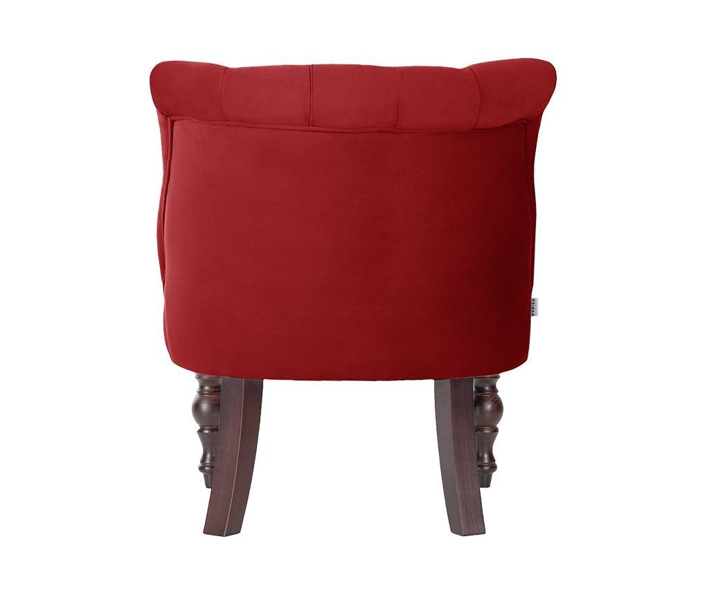 Fotoliu Dentelle Glamour Red