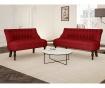 Canapea 3 locuri Dentelle Glamour Red