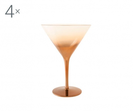 Olik 4 db Martinis pohár 275 ml