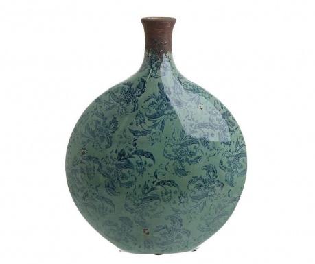 Antique Blue Collar Váza
