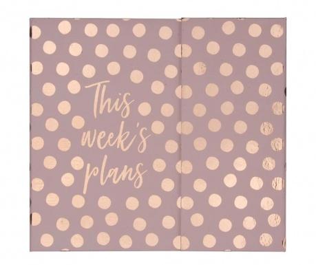 Седмичен органайзер This Week's Plan Dots