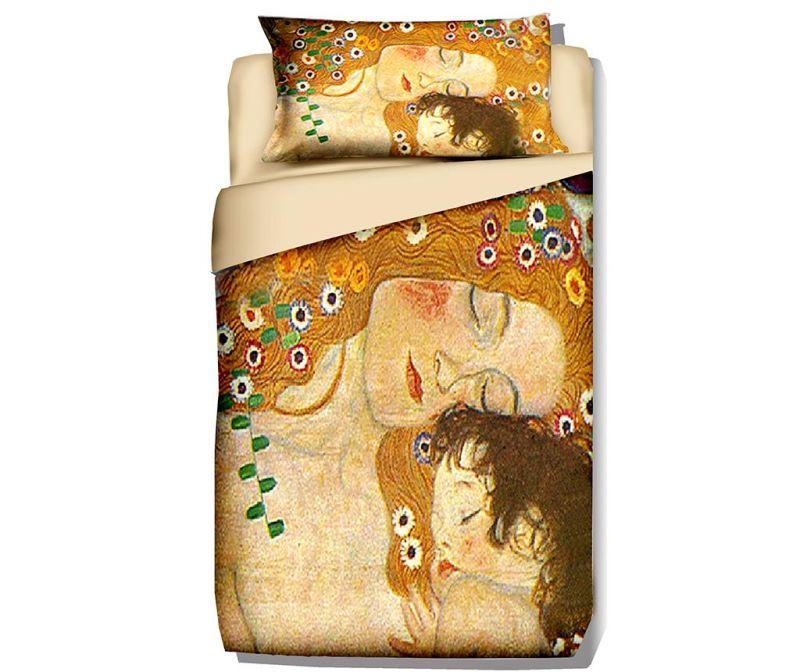 Σετ κρεβατοκάμαρας Single Ranforce Klimt Mother and Child