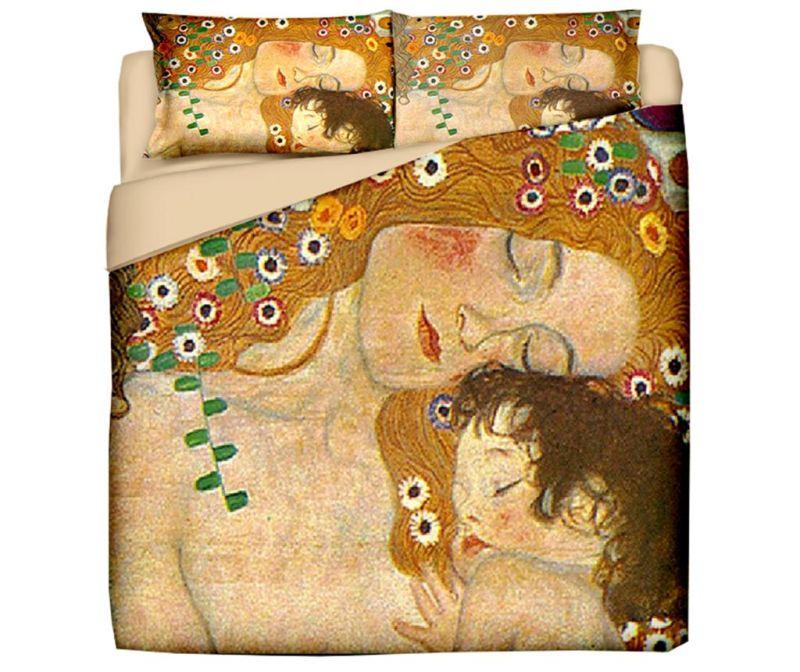 Σετ κρεβατοκάμαρας King Ranforce Klimt Mother and Child
