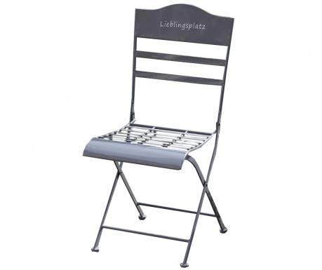 Exteriérová stolička Eisen