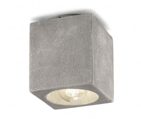 Stropné svietidlo Vintage Cubo Cement