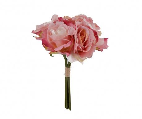 Μπουκέτο τεχνητά λουλούδια Rose