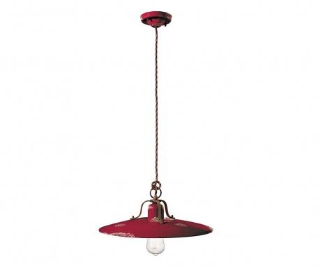 Závesná lampa Country Bordeaux
