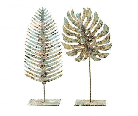 Set 2 decoratiuni Leaf Novo