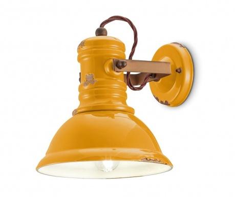 Nástenné svietidlo Industrial Yellow