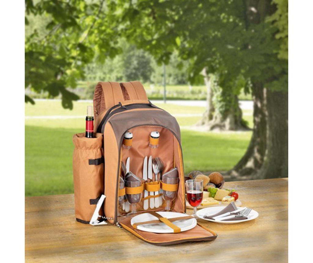 Ruksak za piknik s priborom za 4 osobe Free Time