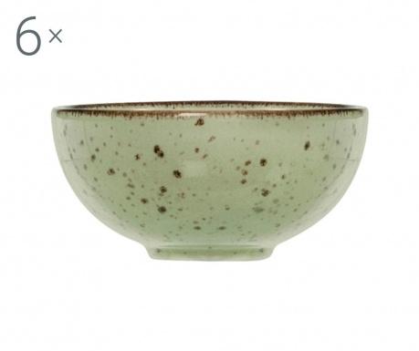 Zestaw 6 misek Mimosa Green Miko