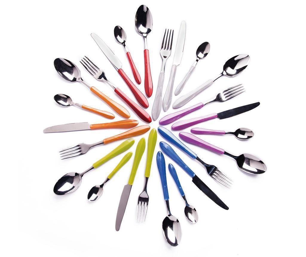 Pearl Multicolor 24 darabos Evőeszköz készlet
