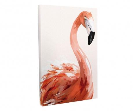 Flamingo Kép 30x40 cm