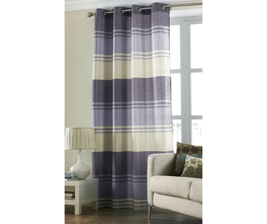 Zavesa Stripe Purple 145x228 cm