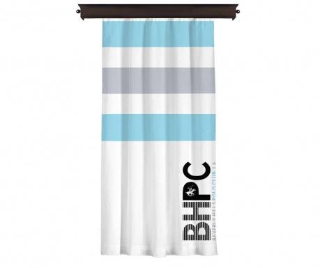 Draperie Beverly Hills Polo Club Aqua Blue 140x260 cm