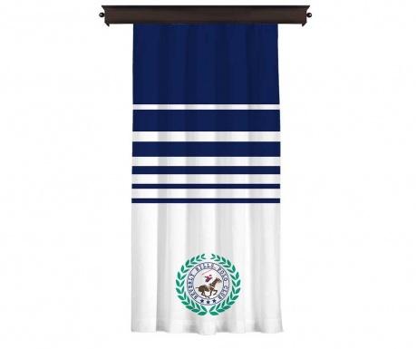 Draperie Polo Club Logo Dark Blue 140x260 cm