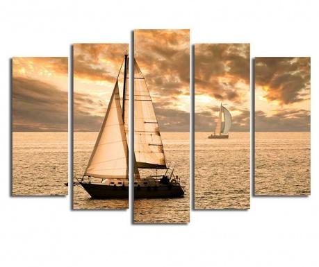 Set 5 tablouri The Golden Hour