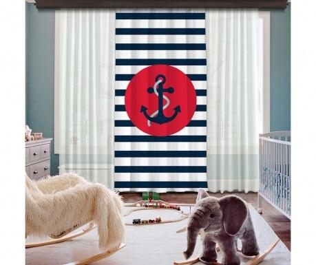 Draperie Anchor Red 140x260 cm
