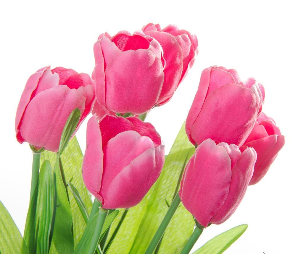 Umetna lončnica Tulip Pink