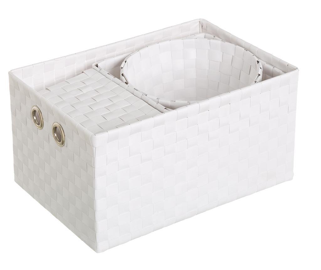 Set 4 cosuri Desire White