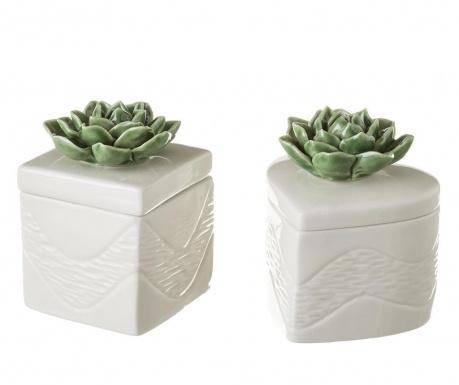 Set 2 cutii pentru bijuterii Plant Lover