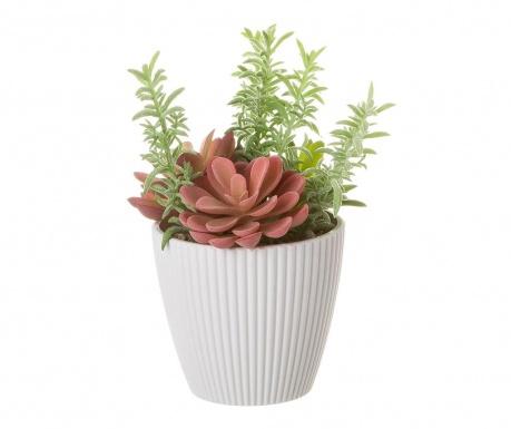 Изкуствено растение в саксия Florie