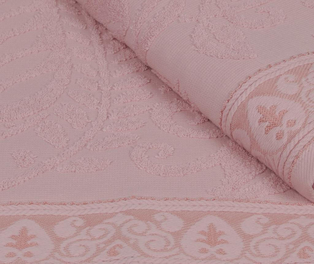Noktali Sal Pink 2 db Fürdőszobai törölköző 90x150 cm
