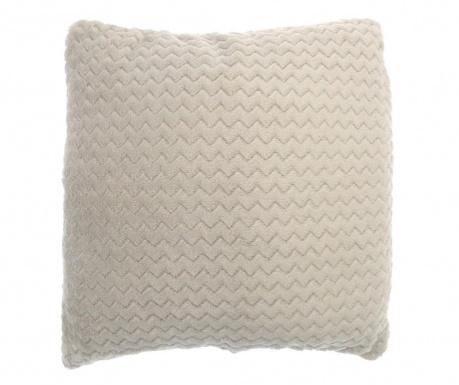 Poszewka na poduszkę Chevron Fleece Cream