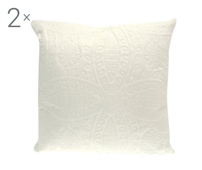 Set 2 jastučnice Parisienne Cream 43x43 cm