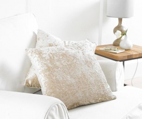 Zestaw 2 poszewek na poduszkę Bliss Cream 43x43 cm