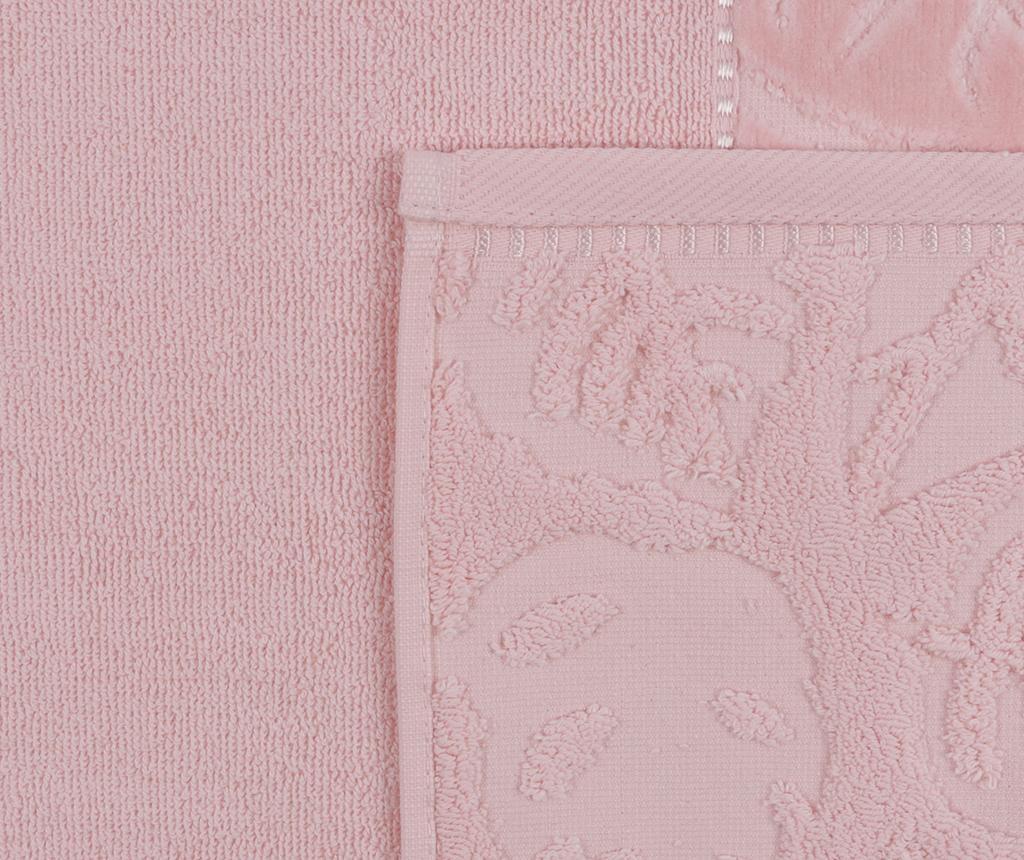 Kismi Kadife Yaprak Powder 2 db Fürdőszobai törölköző 50x90 cm