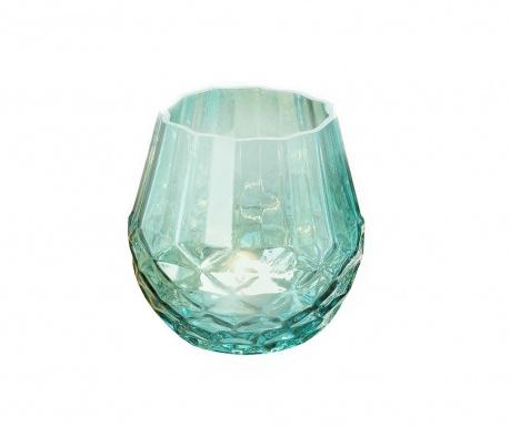 Splash Turquoise Gyertyatartó