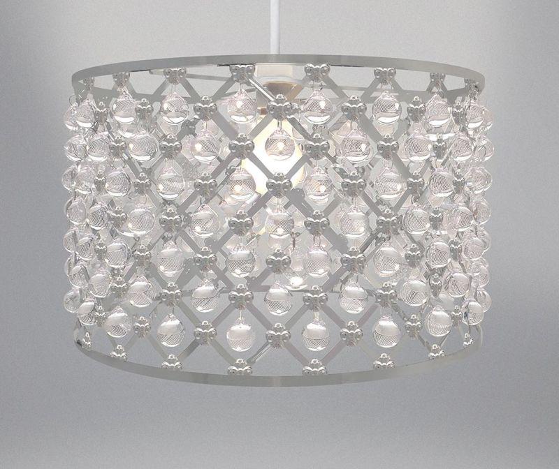 Senčilo za svetilko Bijou Silver M