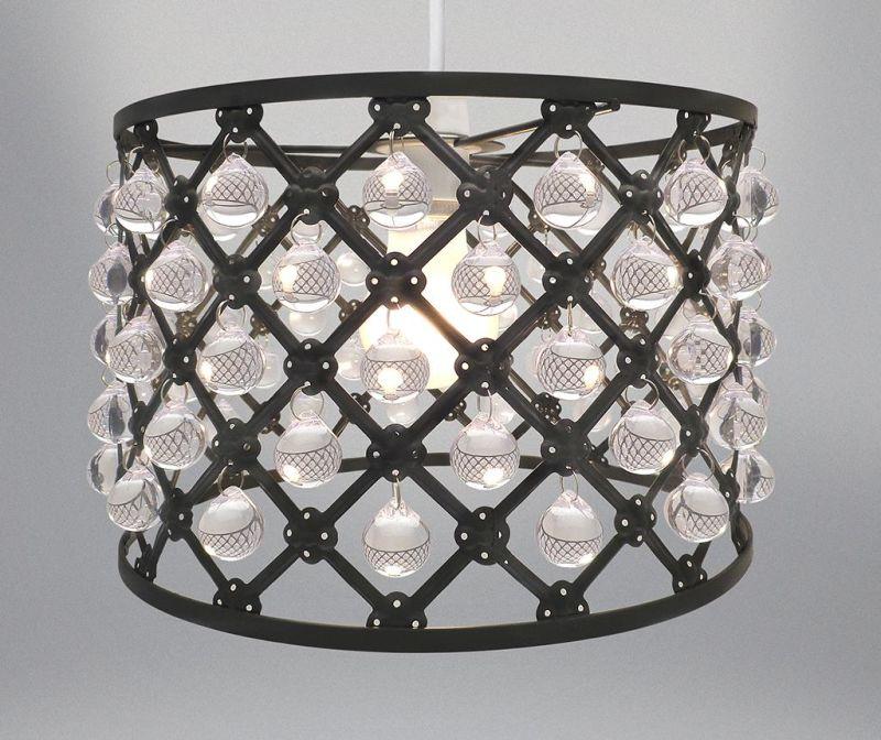 Senčilo za svetilko Bijou Black S