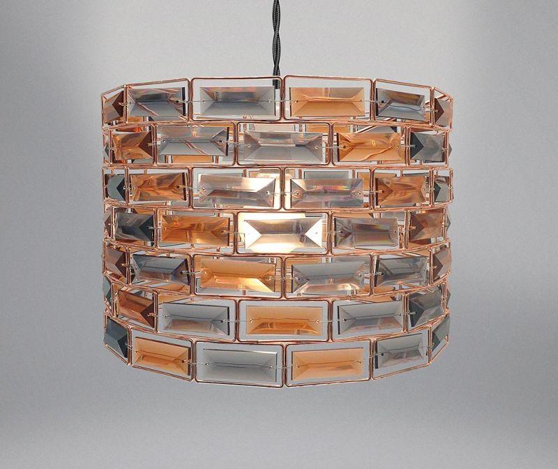 Marla Copper Lámpaernyő