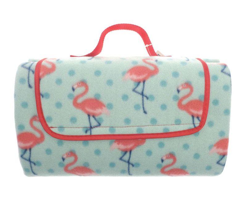 Pikniková deka Flamingo 130x150 cm