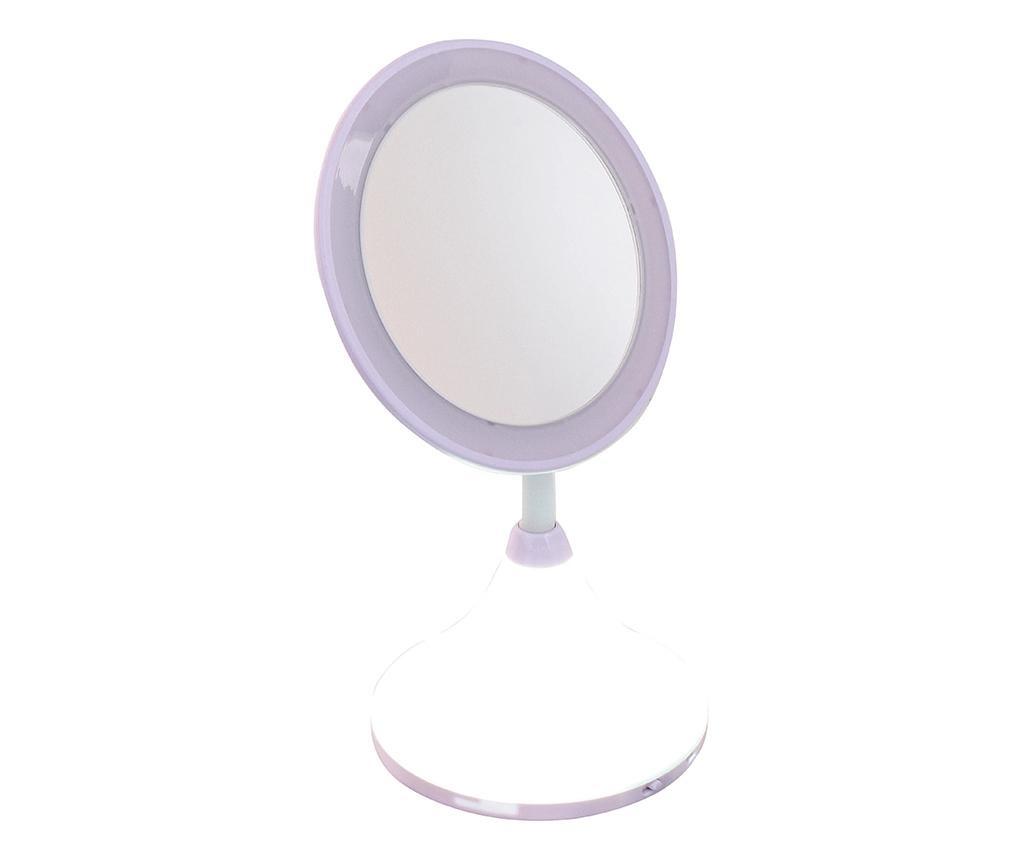 Oglinda cosmetica cu LED si USB Pretty Tonight
