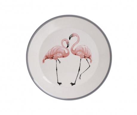 Flamingo Lapostányér