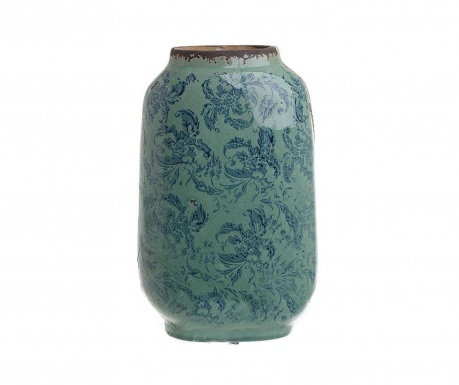 Antique Blue Váza