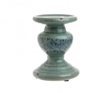 Antique Blue Gyertyatartó