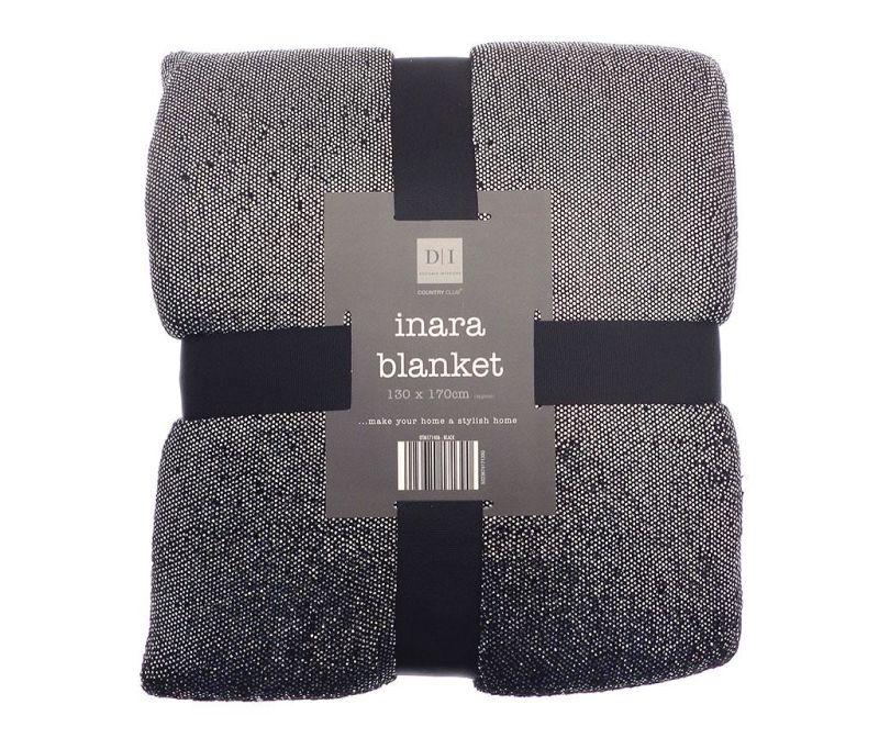 Одеяло Inara Black 130x170 см