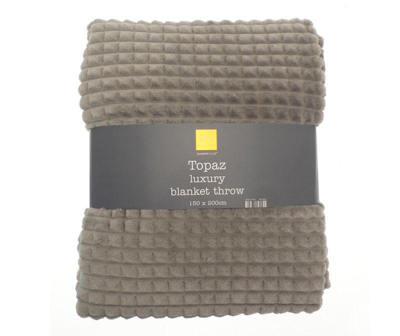 Patura Topaz Grey 150x200 cm