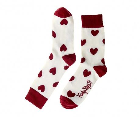 Ženske nogavice Cherry Hearts 35-39